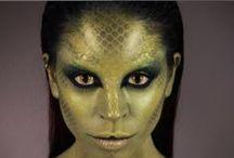 Reptile Dragon makeup / Repitle makeup inspiration ideas