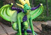 Reptile Dragon Costume / Inspiration for reptile costume