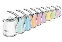 Pastels Water kettles for US / Pick your favorite color  Lightning fast, but with an extra-fine filter. It really brings things to a boil. Click on the kettle color you like best, and the appliance will appear in all its beauty.