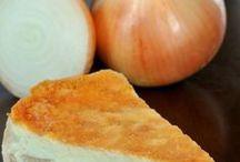 Cebolas - Receitas com cebola