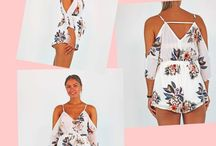 Forever Florals / Pretty florals prints brought to you by Pink Cadillac. Perfect for spring/summer 17. Shop Forever Florals INSTORE and ONLINE xx