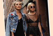 Style In The Street / Pink Cadillac's fave street styles. Follow our inspro and what's hot right now! We're always on the look out for the latest trends #trendsetter #street #style #spring17
