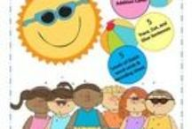 Simply JUNE learning & fun / Great activities and lessons as well as fun for the entire month of June. From Fathers Day to summer fun and everything in between we have all you need for the elementary classroom