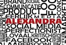 Alexandra 2.0 #ik zoek werk / Bekijk hier mijn CV! Ik ben op zoek naar een uitdagende baan in de marketing, communicatie of reclame, waarin ik mijn creativiteit kwijt kan en mijzelf kan ontwikkelen. Wilt u meer van mij weten, neemt u dan gerust contact op. Graag zelfs!