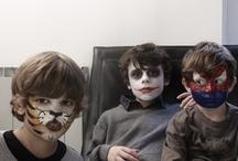 Maquillage d'enfants  / Toutes les plus belles photos de nos casting maquillage. Des tutoriels pour maquiller votre enfant facilement ! Maquillez votre enfant en chat, chauve souris ou zombie http://bit.ly/TMPz0D