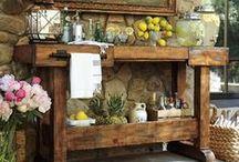 Beautiful furnitures / Cozy home decor