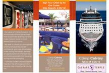 Brochures I've Created / My portfolio of brochures that I have created over the years.