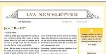 Sample Newsletters / Portfolio of newsletters created for myself, my church, my former job, or current clients interspersed with templates found around the web.