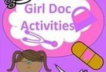 All things DOC / Doc McStuffins ideas for play and party