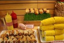 Simply Farm Party / We did a farm themed party for my daughters 3rd. It was so fun!