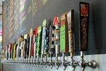"""Tap Handles (LiquorList.com) / Is there anything more perfect than a long row of beautiful tap handles just inviting you to try new things?  Get inspired for flavors and styles here and find your own at www.LiquorList.com  """"The Marketplace for Adults with Taste"""" @LiquorListcom   #LiquorList"""