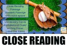Simply Close Reading / Close Reading activities to use in the primary class. These are a great way to share more difficult passages with your class.