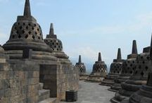 Borobudur / A 9th century Buddhist temple in Magelang, Central Java, Indonesia #Borobudur #Temple #Magelang #Indonesia