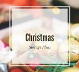 Christmas storage ideas / Storing items for after Christmas