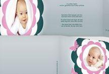 Dankeskarten zur Geburt / Bezaubernde Dankeskarten für die Glückwünsche zum Baby - wunderschöne Designs und Inspirationen unter http://www.babykarten-paradies.de/geburt-dankeskarten/