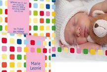 Babykarten / Bezaubernde Geburtskarten für Ihr Baby - wunderschöne Designs, die eigenen Gefühle zu Papier gebracht. Inspirationen unter http://www.babykarten-paradies.de/geburtskarten/