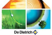 [Nature et confort] / Le confort durable® par De Dietrich : solaire, bois, pompes à chaleur, condensation fioul/gaz.