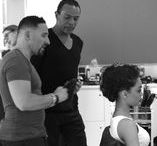 Day One #BehindTheScenes Joseph Koniak for MyHairDressers.com April 2015 / A few photos from day one of our April 2015 video shoot here at MyHairDressers.com with Joseph Koniak.