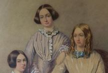 The Bronte Sisters / Images & quotes from the Yorkshire writers, Charlotte, Emily and Anne Bronte. https://thelongvictorian.wordpress.com/