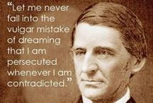Ralph Waldo Emerson / Images & quotes from the American writer, Ralph Waldo Emerson. @ thelongvictorian.com
