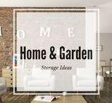 Storage Ideas:  Home and Garden