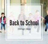 Back to School Storage Ideas