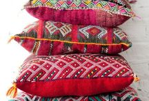 Colourful textiles / Colors and textures