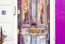 Decorated Doors / Step to a magical world