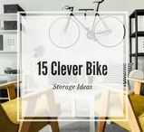 15 Clever Ways to Store Your Bike