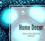 Home Decor: Too old for Disney?