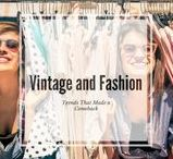 Fashion: Trends that came back/vintage