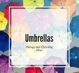 Umbrella storage & upcycling