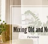 Mixing Old and New Furniture