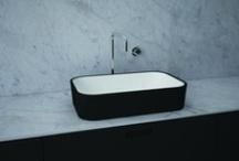 Botinger & Roi - CABANEL 130 Basin Collection / Botinger & Roi - Cabanel 130 Design: Boudewijn Roest http://www.botinger-roi.com/professional/cabanel130_basin.html   #Botinger #basin #ifaward #award #xilto #himacs #lavabo #wastafel #waschtisch #washbasin #solidsurface #new #corian #boudewijnroest