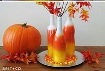 Finally Fall / Fun fall themed #crafts, #recipes and #DIY ideas from Halloween to Thanksgiving!