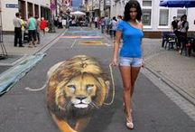 ✦ 3D Street Art ✦ / Please share your 3D street art pictures here. Feel free to invite your friends through the invite option. Have fun and happy pinning! \(^◡^ )/