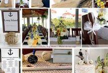 Block Island Wedding / DIY details . Ocean View. Classic New England Wedding.