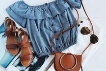 Lay It Down • Flatlays / Flatlay inspiration board filled with fashion, accessories, art, makeup, food, and lifestyle photos.  Classic, feminine, boho, and minimal in style.