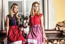Vintage Dirndl / Amazing vintage inspired Dirndl or styles as well as some new style inspirations for Oktoberfest & Co.