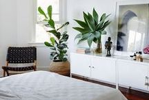 White Rooms / I had an all white bedroom once. I miss it. I'm dreaming of more white in my house.