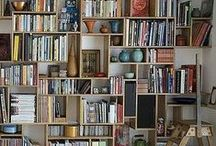 Books and Shelves / I love both. Cozy.