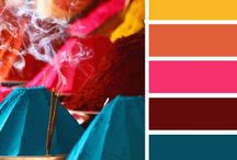 Hues, Glorious Hues! / For the love of color...perfect color combinations. / by Modwalls Tile