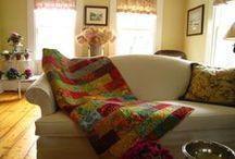 quilt stash / by Carol Hewitt
