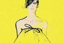 fashion illustration / Iconic fashion illustrations such as Rene Gruau / by Leonie Macleod