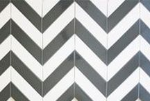 Wall Tile / Tile isn't just for bathrooms, kitchens and floors. It makes a great feature wall in any room of the home or commercial space. Tile as a fireplace surround is another lovely idea. Modwalls has been designing colorful, modern tile since 2005. Here are some tile designs that make fantastic feature walls. shop online at www.modwalls.com