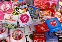 Condoomhoesjes / Voor iedere gelegenheid maken wij een Limitid Edition condoomhoesje! Heb je zelf een leuk idee? Post het op Facebook.com/Condoomfabriek en misschien wordt jouw idee in productie genomen!  Wil je een ludieke promo of marketing stunt opzetten met een condoomhoesje? Een super- sterk communicatiemiddel tot op het nachtkastje! Kijk voor ideeën op Condoomhoesje.nl / by Condoomfabriek.nl