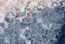 Quilt inspiration / Contemporary quilting inspiration