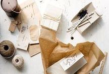 PACKAGING// / Because a nicely wrapped present says just as much as the object inside the wrapping. / by H. Kambo