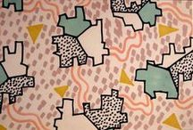 pattern love ♡ / textile design, pattern, graphic design, aesthetic