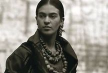 FRIDA / She gives me life...oh this woman / by Aleisha Carter